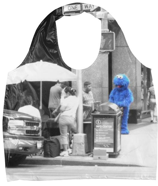 Cookie Monster Eco Tote