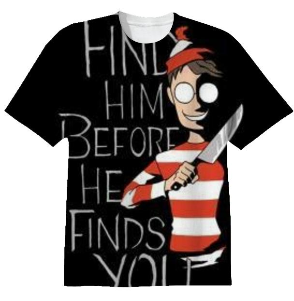 Creepy Waldo T Shirt