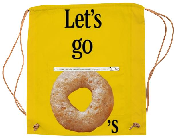 Let s Go O s Cheerio Sports Bag