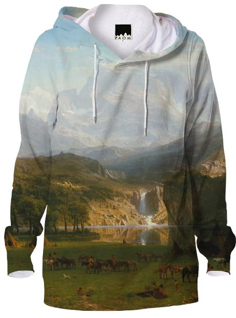 The Rocky Mountains Lander s Peak Hoodie