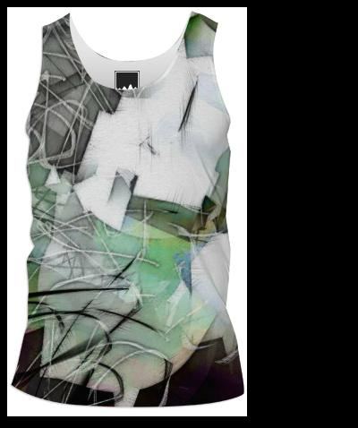 the cubist Tank Top Men I