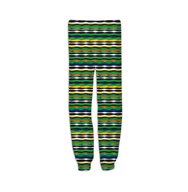 Tropical Stripes Sweatpant