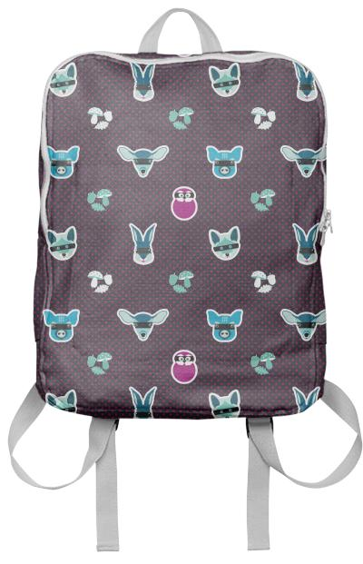 Well Hidden In The Woods Color1 Backpack