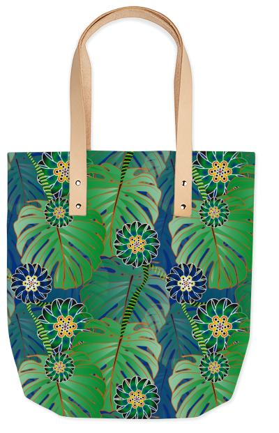Jungle Summer Tote