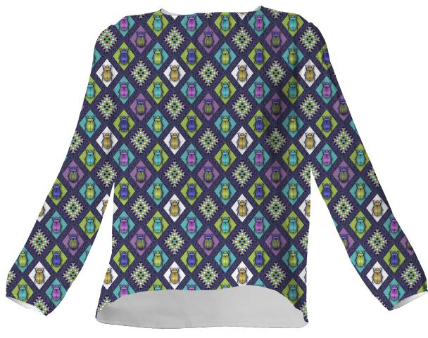 Scarabs VP Silk TOP
