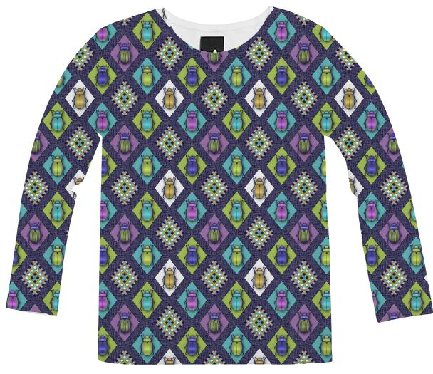 Scarabs Long Sleeves Shirt