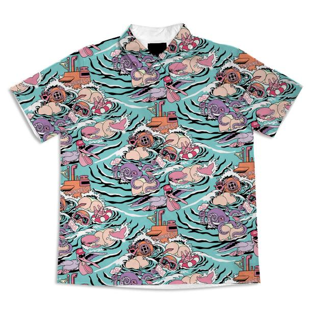 Snorkeled Blouse