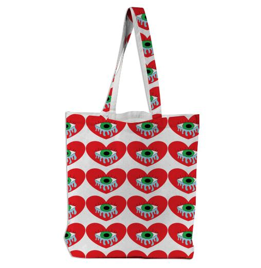 Late Night Heart Cries Tote