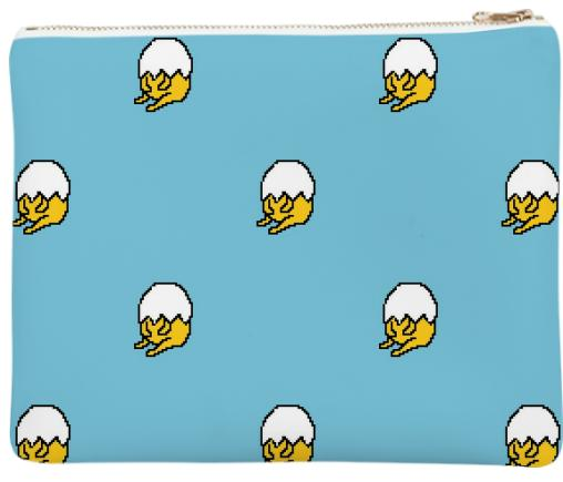 BLUE GUDETAMA CLUTCH