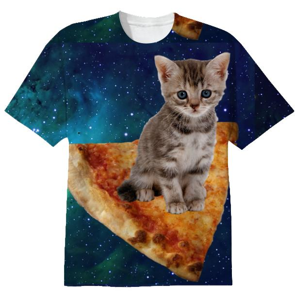 Pizza Space Cat