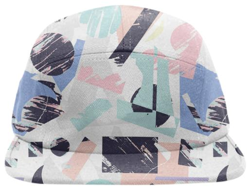 PAOM, Print All Over Me, digital print, design, fashion, style, collaboration, lottiegoodman, Baseball Hat, Baseball-Hat, BaseballHat, Shapes, spring summer, unisex, Poly, Accessories