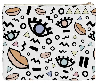 PAOM, Print All Over Me, digital print, design, fashion, style, collaboration, lottiegoodman, Clutch, Clutch, Clutch, Lips, autumn winter spring summer, unisex, Poly, Bags