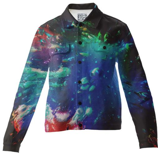 PAOM, Print All Over Me, digital print, design, fashion, style, collaboration, zouassi, Twill Jacket, Twill-Jacket, TwillJacket, autumn winter, unisex, Cotton, Outerwear