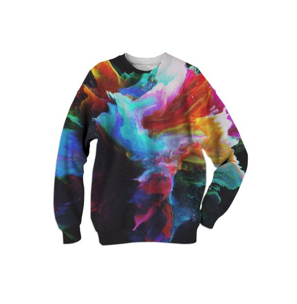 PAOM, Print All Over Me, digital print, design, fashion, style, collaboration, zouassi, Cotton Sweatshirt, Cotton-Sweatshirt, CottonSweatshirt, autumn winter, unisex, Cotton, Tops