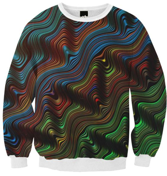 PAOM, Print All Over Me, digital print, design, fashion, style, collaboration, zouassi, Ribbed Sweatshirt, Ribbed-Sweatshirt, RibbedSweatshirt, autumn winter, unisex, Poly, Tops