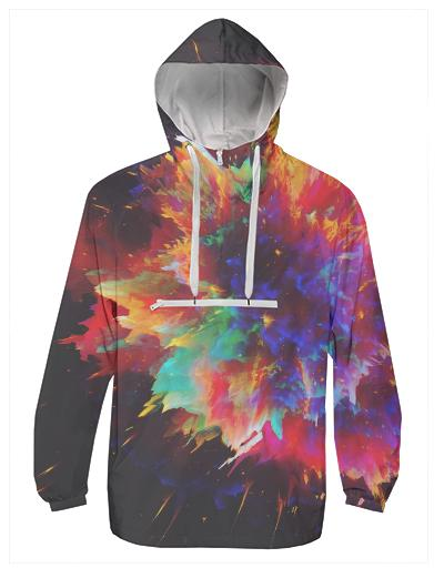 PAOM, Print All Over Me, digital print, design, fashion, style, collaboration, zouassi, Windbreaker, Windbreaker, Windbreaker, spring summer, unisex, Poly, Outerwear