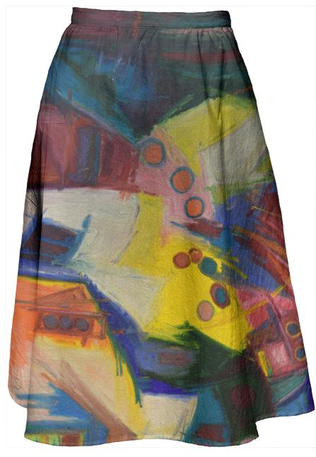 Bubbles Midi Skirt