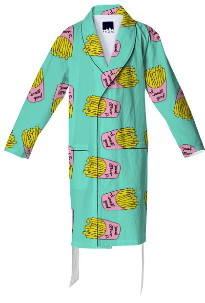 Fries Before Bed Robe
