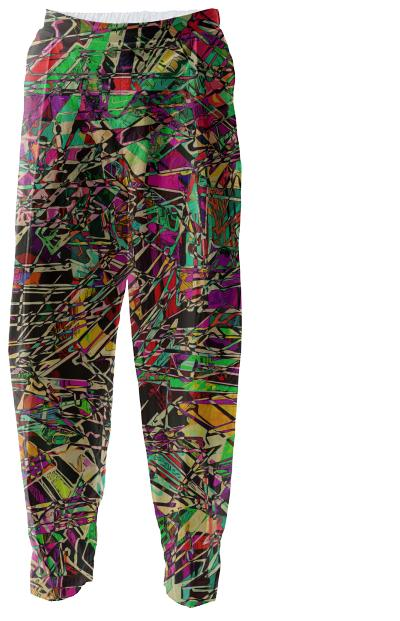 Zippedy relaxed pants