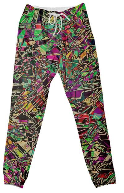 Zippedy cotton pants