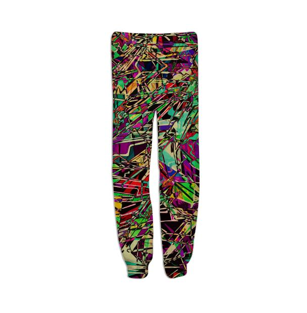 Zippedy sweatpants