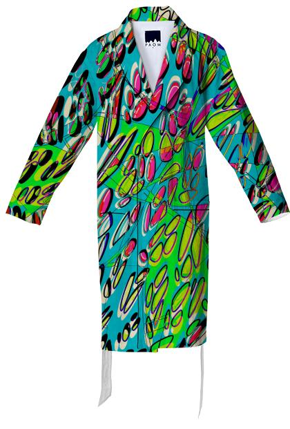 Petri Peepers cotton robe