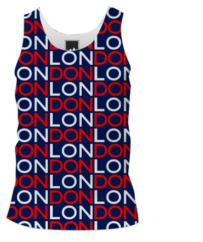 London Red White and Blue