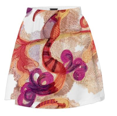 Equatorial Life at Large Summer Skirt