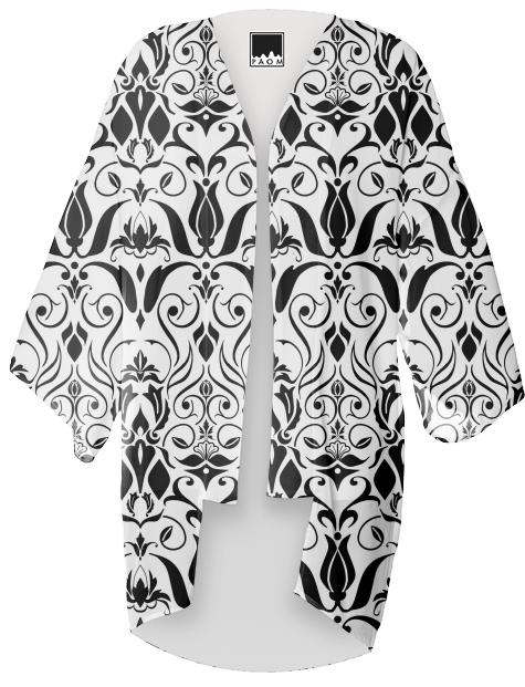 Black and white baroque