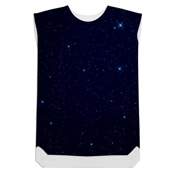 Night Sky Shift Dress