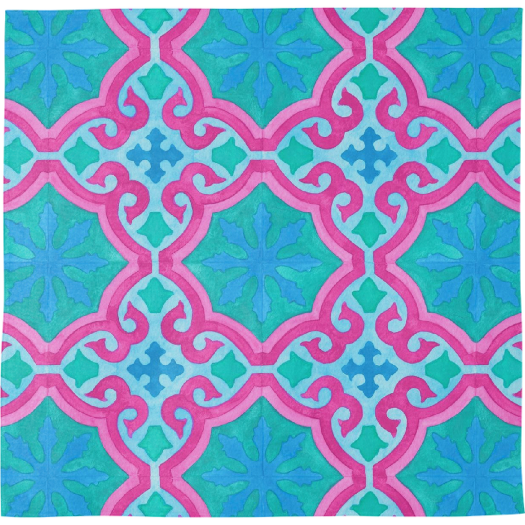 The Moors of Palm Springs Bandana by Frank-Joseph