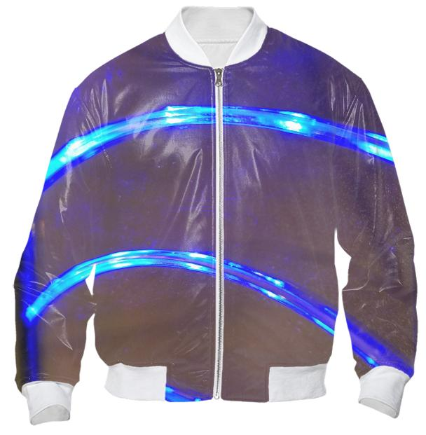Electric Flow Bomber Jacket