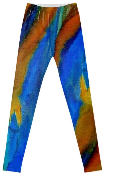 Cool Painting Fancy Leggings