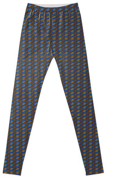 Pattern Fancy Leggings