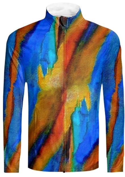 Cool Painting Tracksuit Jacket