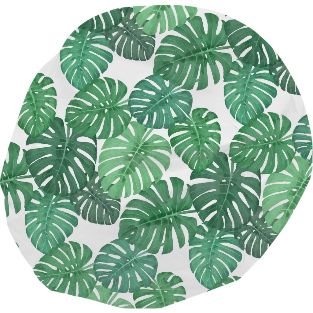 Monstera Jungle Bean Bag by Frank-Joseph