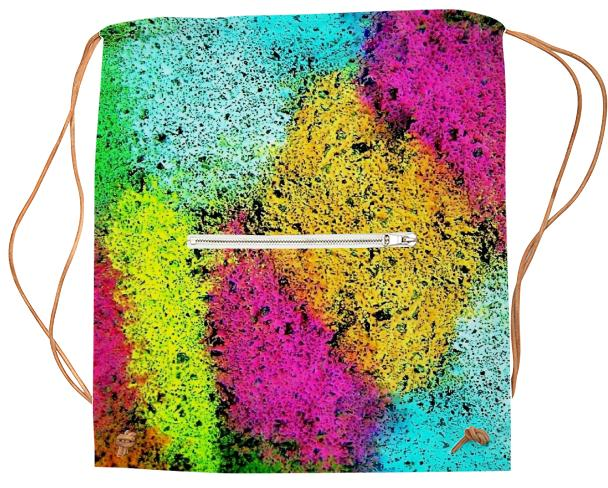 funny cool colorful Sports Bag