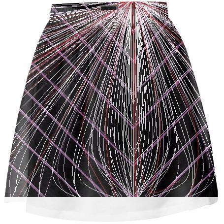 Purple Web Mini Skirt by LadyT Designs
