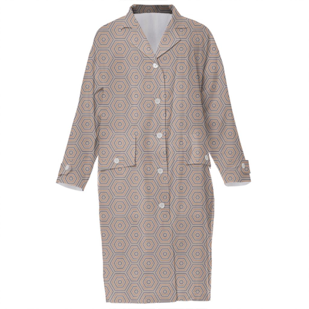 Nicole cotton trench