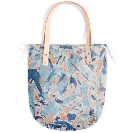 Abstract Summer Painted Bag