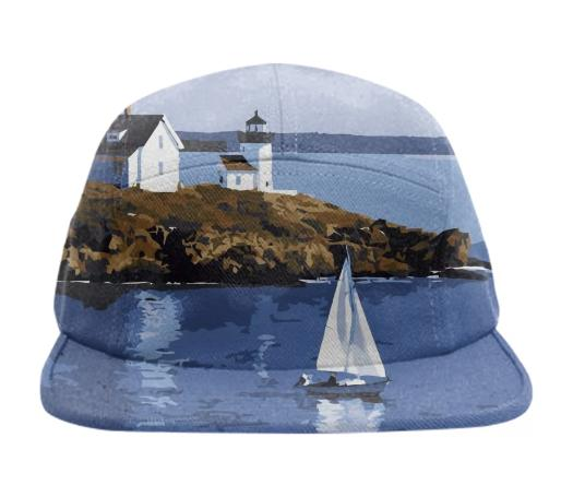 Hudson Sails Boat Design Baseball Hat