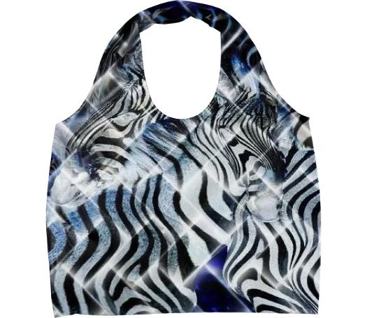 Night Zebra Eco Tote