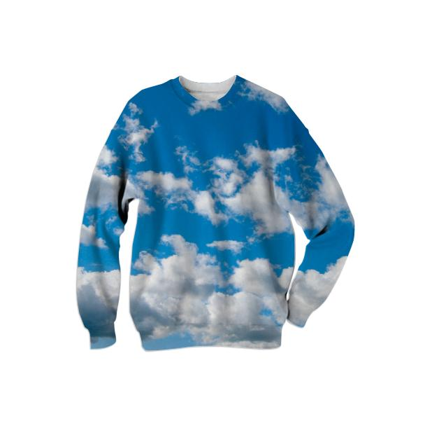 Bright Blue Sky Sweatshirt