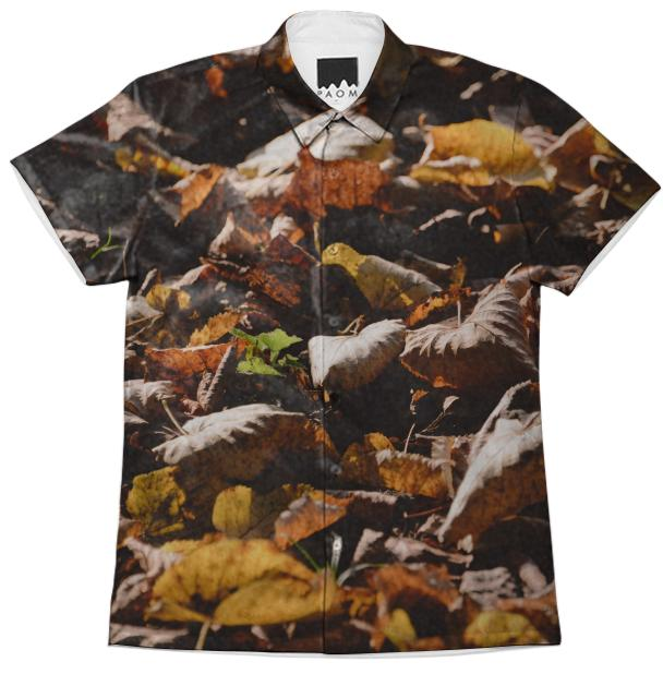 Autumn Leaves Short Sleeve Workshirt
