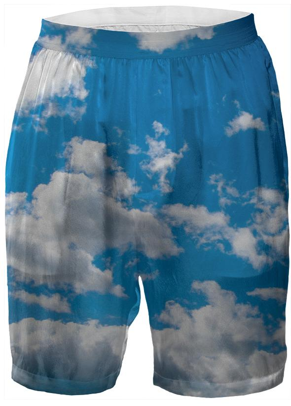 Bright Blue Sky Boxer Shorts