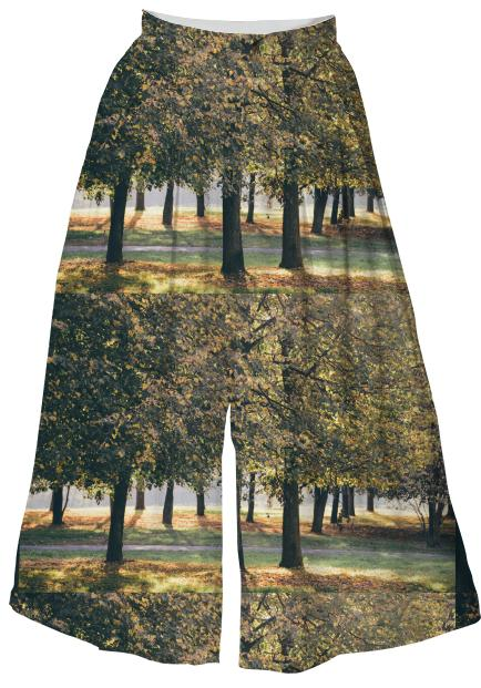 Autumn Trees Pattern VP Culotte