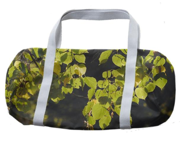 Autumn Silhouettes Duffle Bag