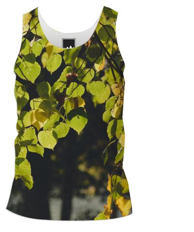 Autumn Silhouettes Tank Top Men