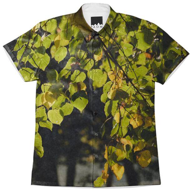 Autumn Silhouettes Short Sleeve Workshirt