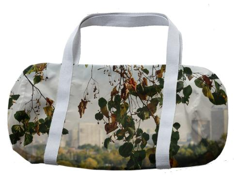 Autumn in the city Duffle Bag